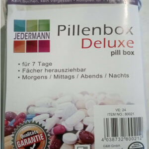 Pillenschachtel 7 Tag